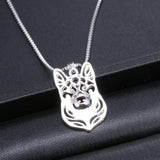 Chic Handmade German Shepherd Necklace