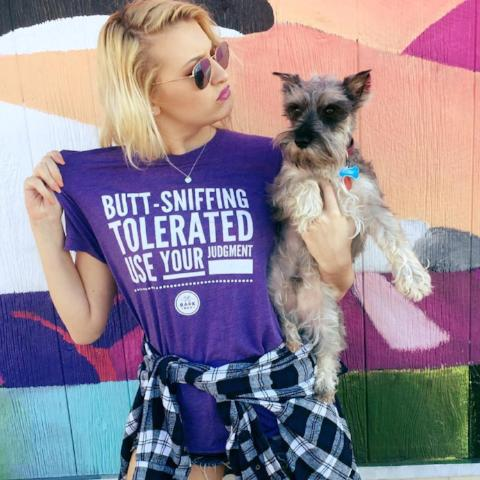 Bark Bar Sniffing Judgement T-shirt