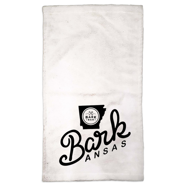 Bark Bar Barkansas! Hand Towels
