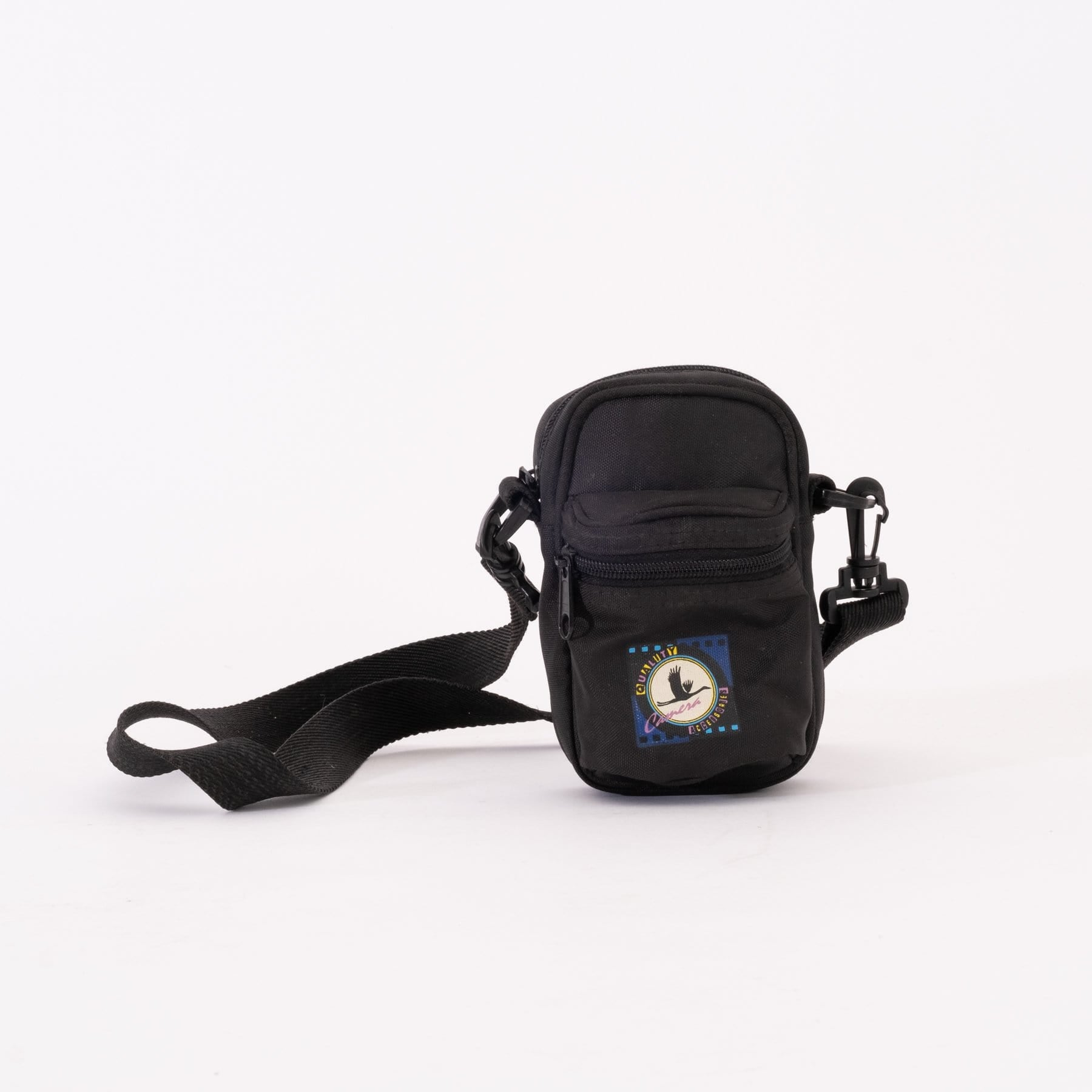 --Black Fabric Camera Carrying Case for Point and Shoot Cameras--