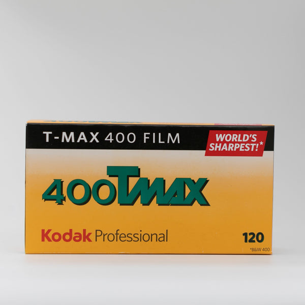 Kodak 400 Tmax - 120 Black and White Film