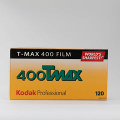 Kodak 400 Tmax - 120 Black and White Film - 5 Rolls