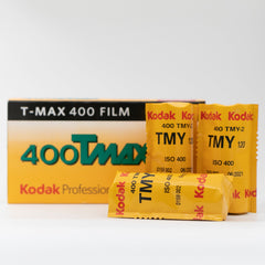 Kodak 400Tmax - 120 Black and White Film