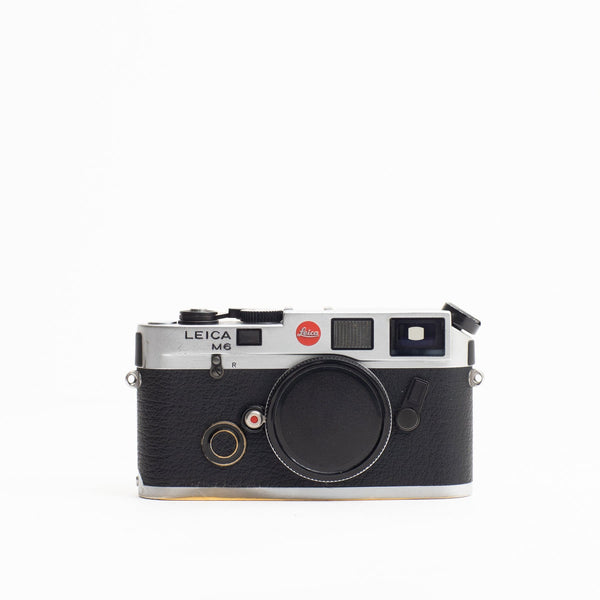 Leica M6 Panda with Brassing (Body Only) - FRESH CLA
