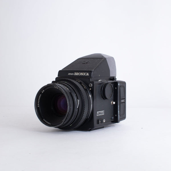 Zenza Bronica ETRS with 75mm F2.8 Lens no. 7965343