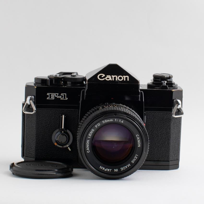 Canon F-1 with 50mm f/1.4 Lens