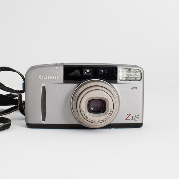 Canon Sure Shot Z115 Caption Point and Shoot - with cosmetic scratches
