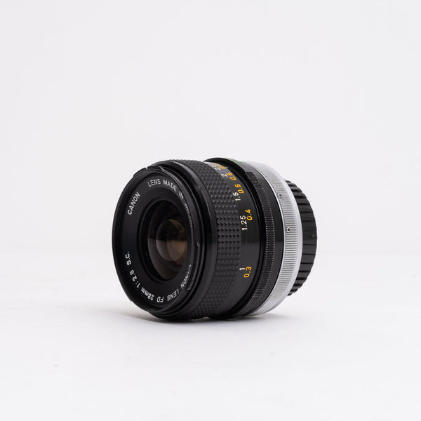 Canon FD 28mm F2.8 Lens