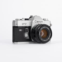 Canon FT QL with 50mm f/1.8 Lens