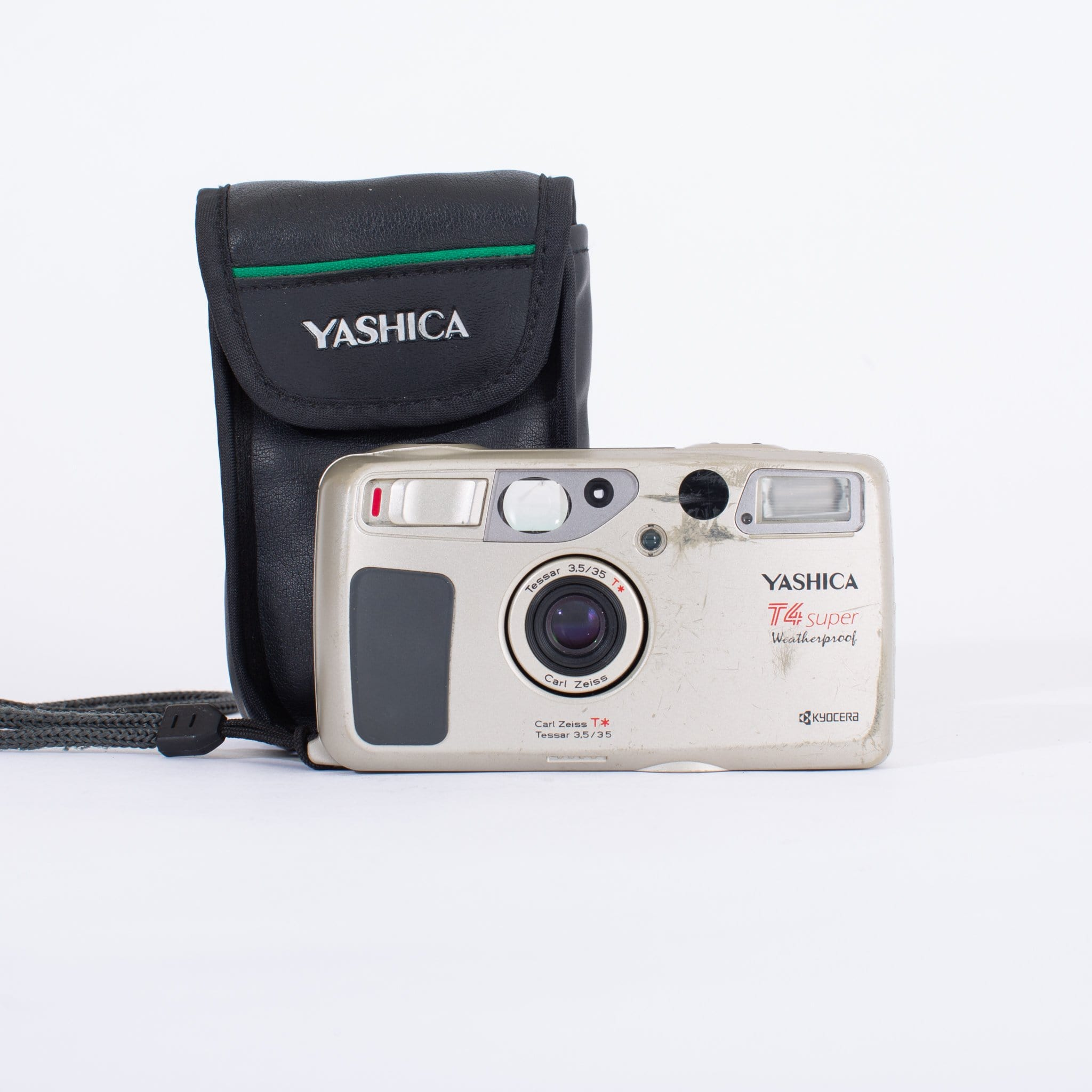 Yashica T4 Super with 35mm f/3.5 (Cosmetic Damage)