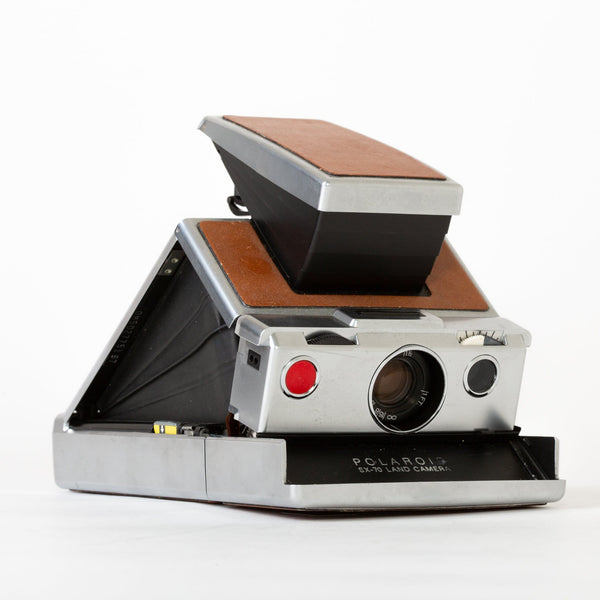 Polaroid SX-70 (Brown)