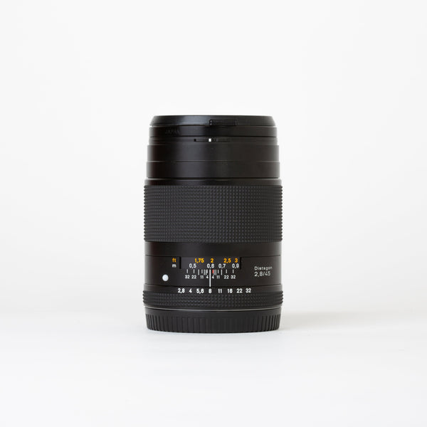 Zeiss Distagon 45mm f/2.8 Lens for Contax 645