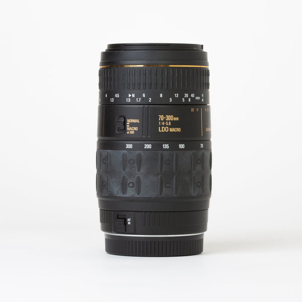 Quantaray 70-300mm f/4-5.6 for Canon EF Mount