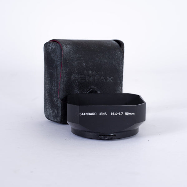 Pentax 49mm Rectangular Lens Hood 50mm FA, F & A-Lenses