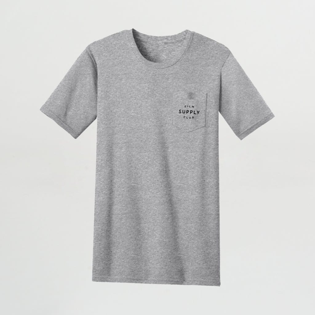 --Film Supply Club Logo Mens Pocket Tee--