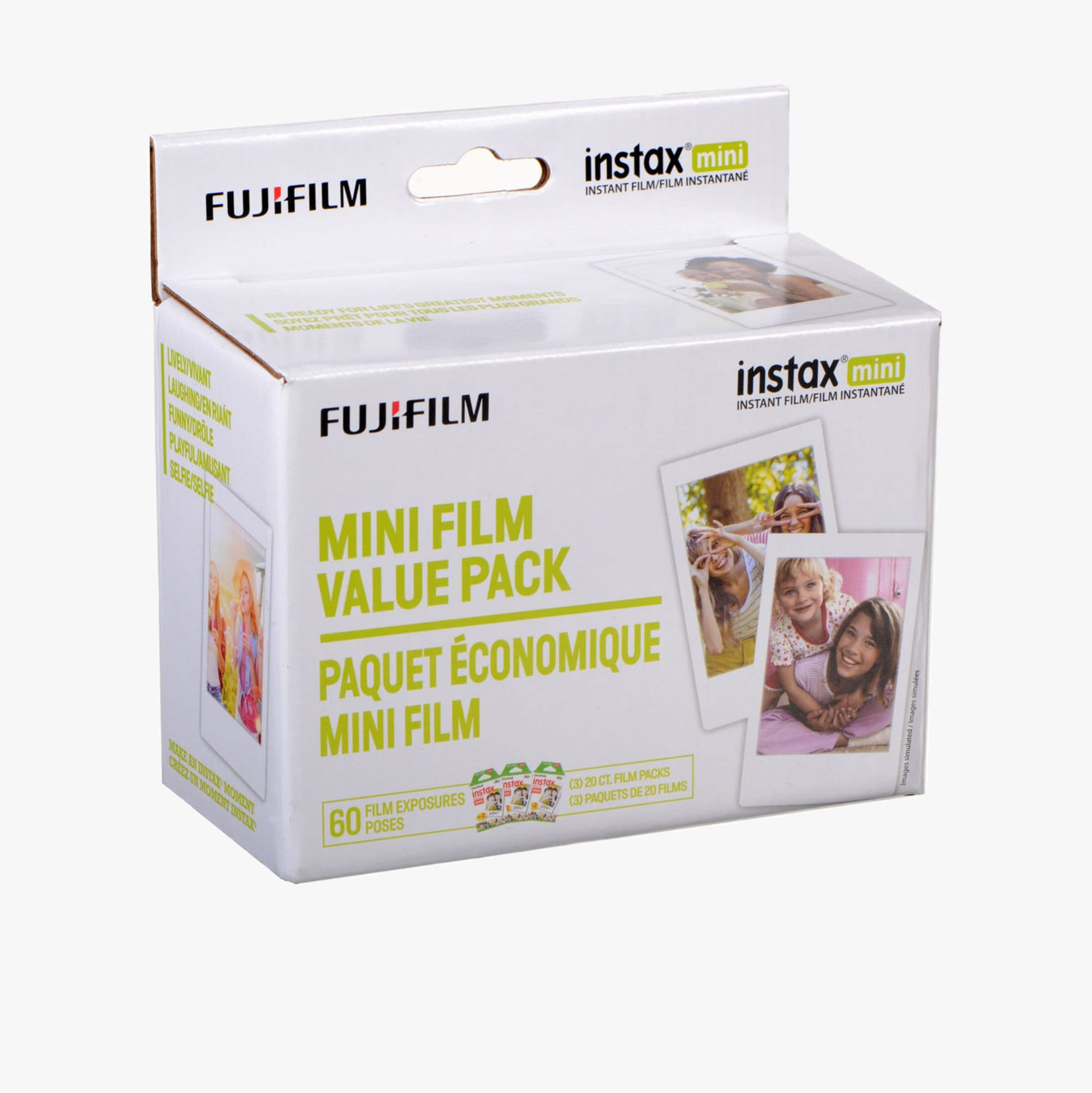 Fuji Instax Mini Instant Color Film (60 Exposures)