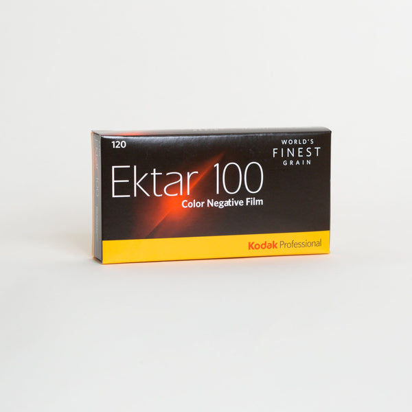 Kodak Ektar 100, 120 Format, Color Film (Pro-Pack of 5 Rolls)