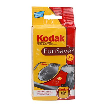 Kodak Funsaver 35mm One-Time-Use Disposable Camera (ISO-800, 27 Exp.)