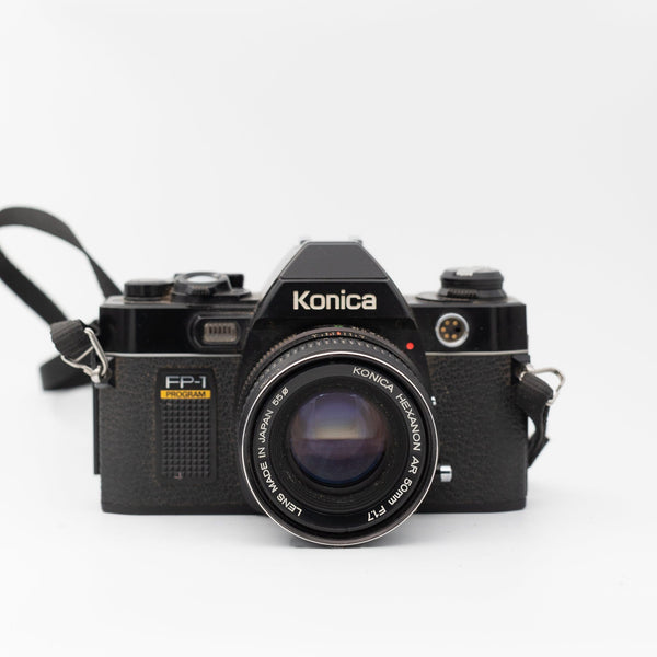 Konica FP-1 Program with 50mm f/1.7