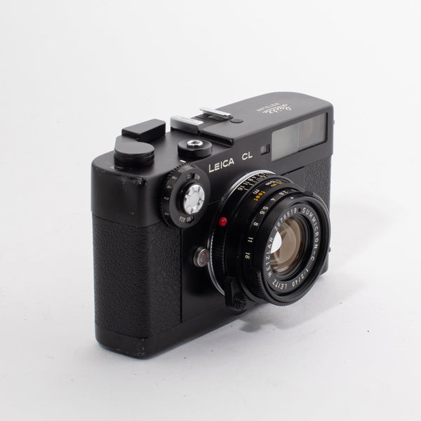 Leica CL with Wetzlar Sumicron-C 40mm f/2 Lens - FRESH CLA