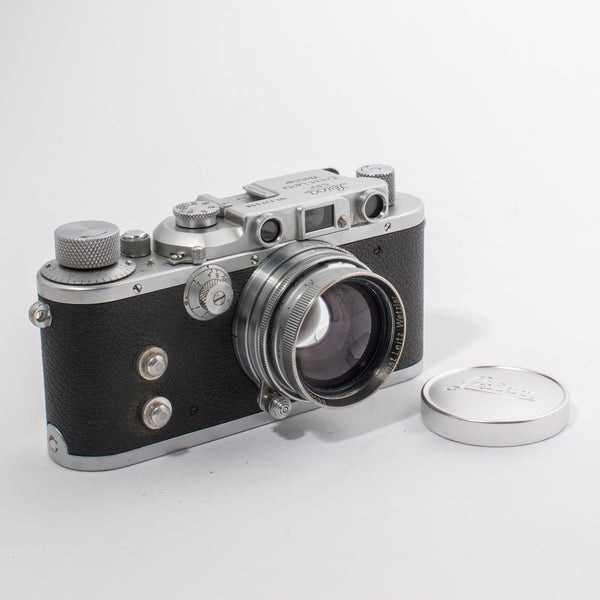 Leica IIIa D.R.P. with Ernst Leitz Wetzlar Summarit 50mm f/2