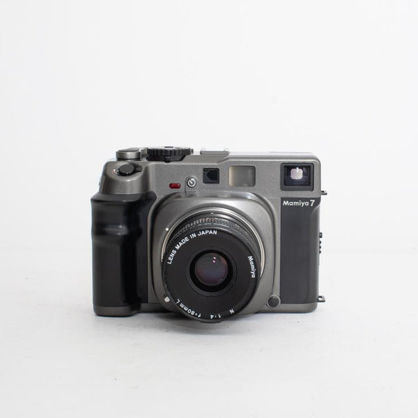 Mamiya 7 no. 597701 with 80mm f/4 lens
