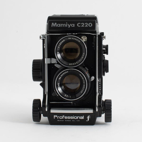 Mamiya C220 80mm f2.8 with WLVF (PREMIUM CLA)