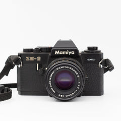 Mamiya ZE-2 Quartz with 50mm