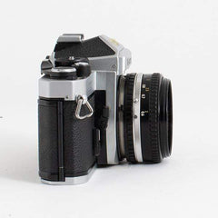 Nikon FE2 Kit with Nikon Series E 50mm f/1.8 and 70-200 f/4 lens