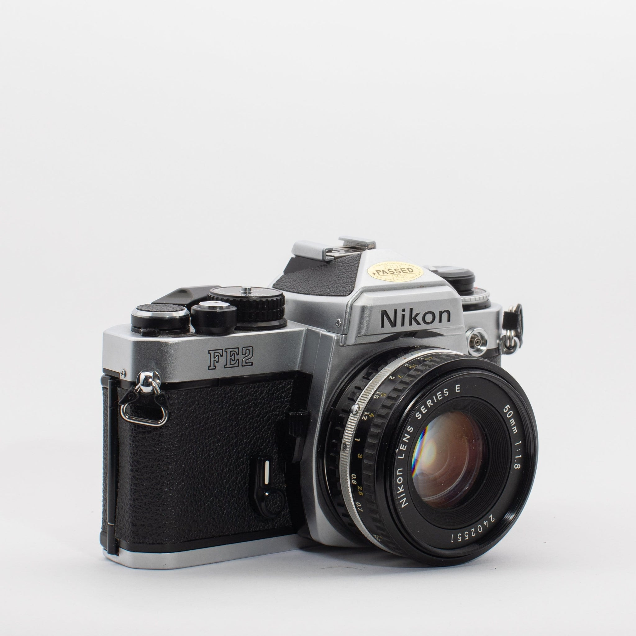 --Nikon FE2 with 50mm 1.8 Series E Lens--