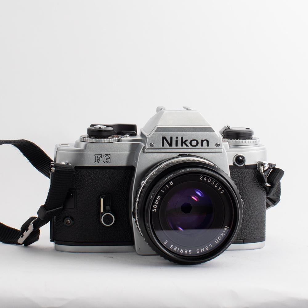Nikon FG with 50mm f/1.8