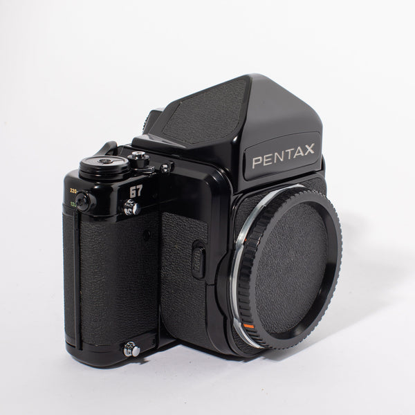 Pentax 67 with Eyelevel Prism Finder