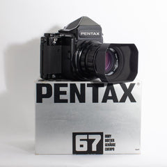 Pentax 67 with 105 SMC Takumar 1:1.4 Lens (MINT)