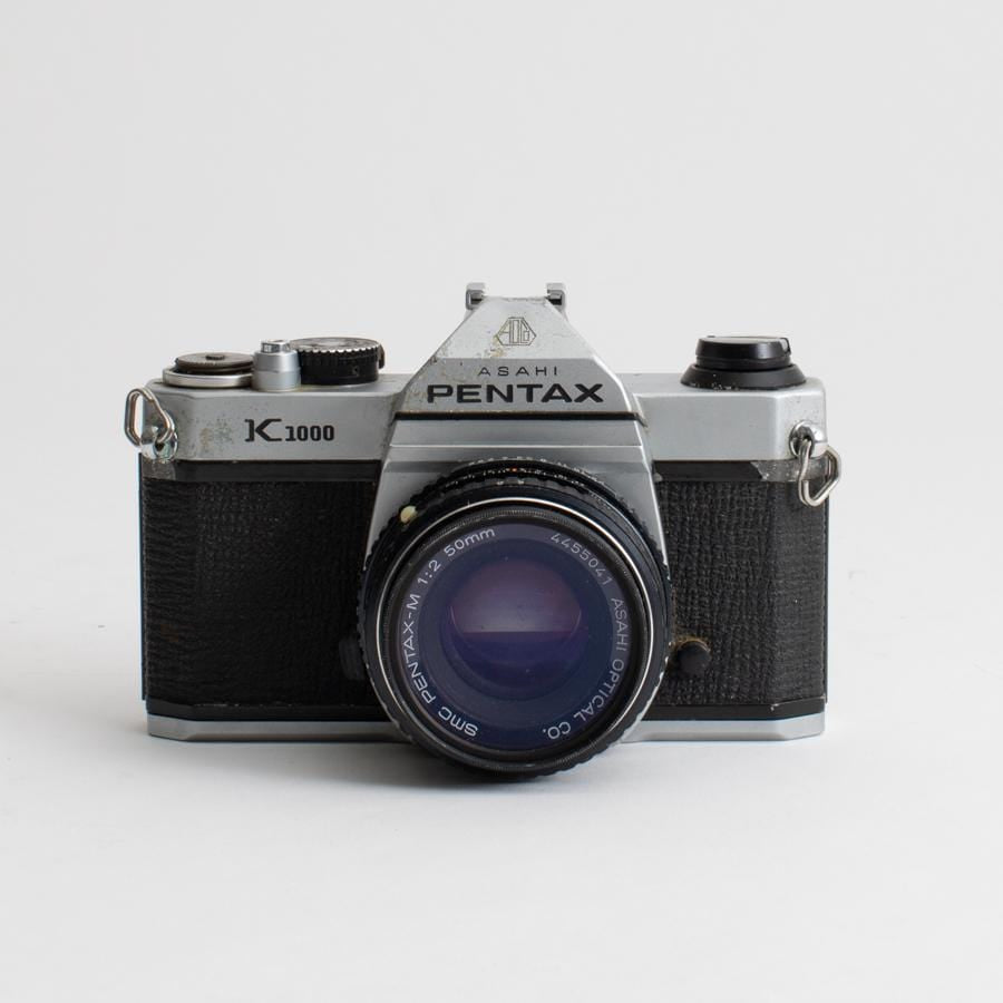 Pentax K1000 no. 6466456 with 50mm f/2 Lens