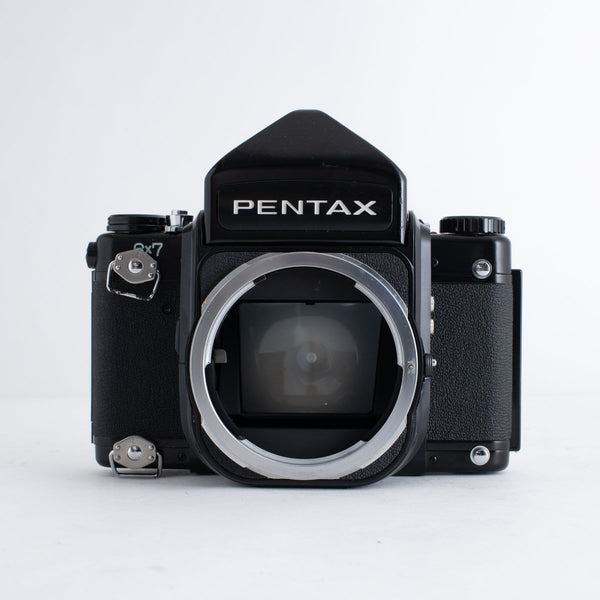 Pentax 6x7 with Strap Lugs and MLU