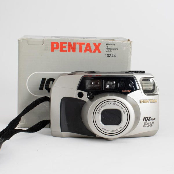 Pentax IQZoom 200 Point and Shoot Camera NEW in Box