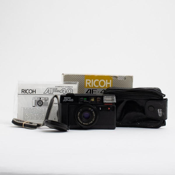 Ricoh AF-40 Point and Shoot Camera