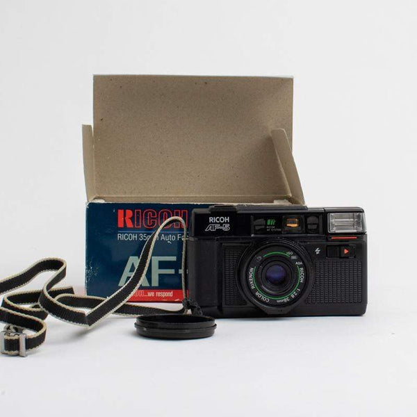 Ricoh AF-5 Point and Shoot Camera