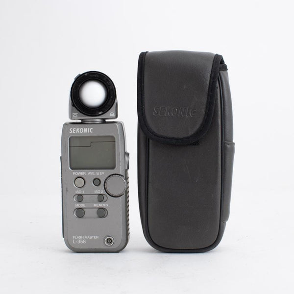 Sekonic L-358 Light Meter no. 001598