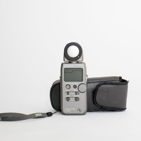 Sekonic L-358 Light Meter no. 009543