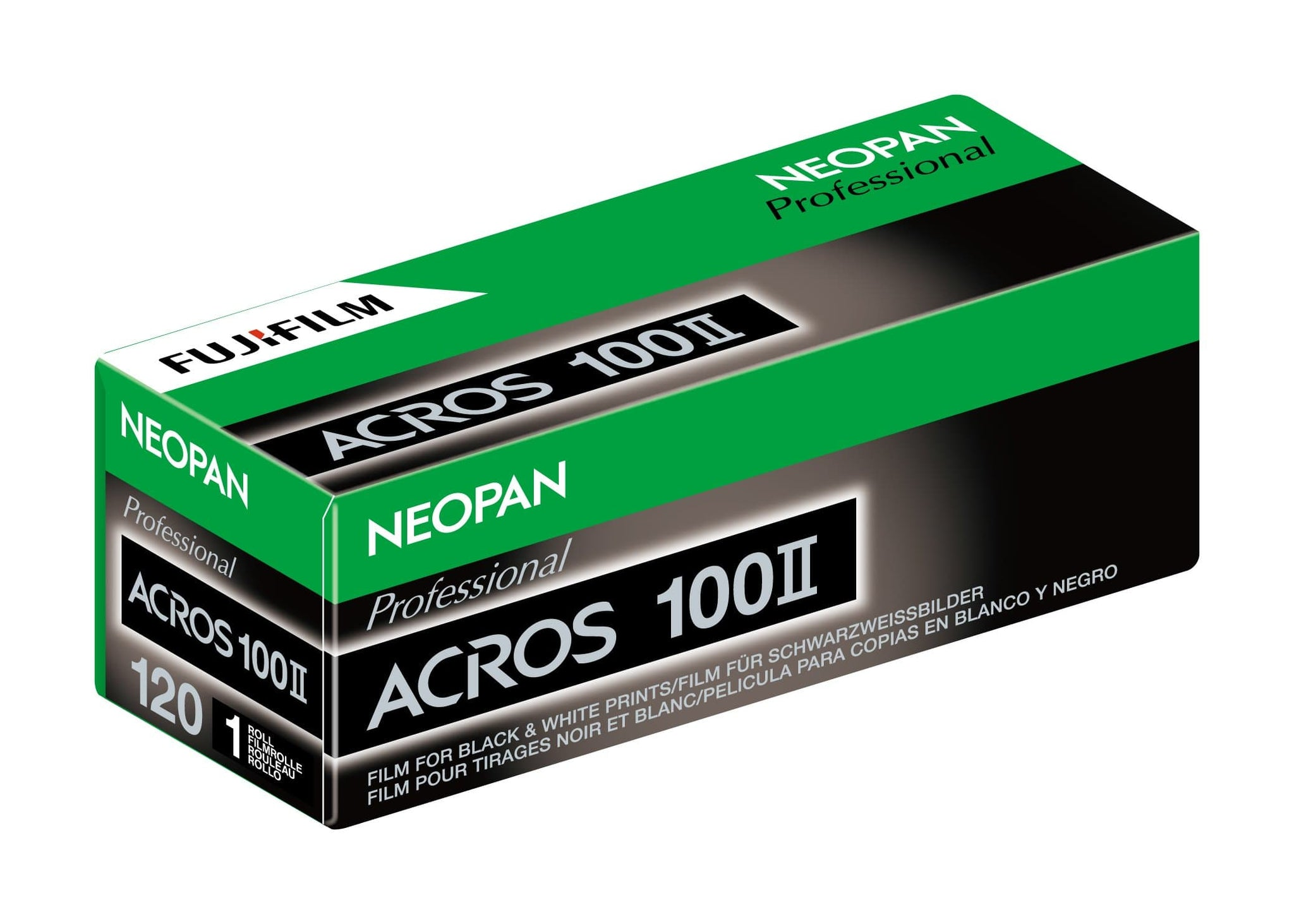 Fujifilm Neopan Acros 100 120mm, Black and White Film (Single Roll Purchase)