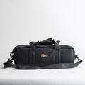 Vintage Black Leather Camera Bag by Z Street
