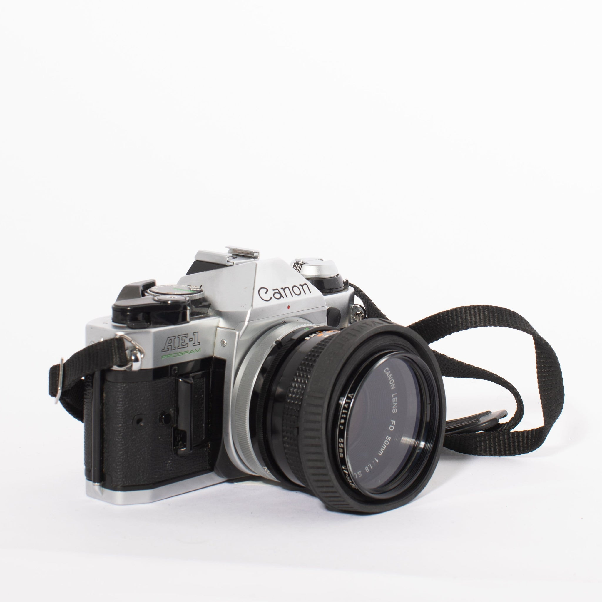 Canon AE-1 Program with 50mm f/1.8 SC Lens