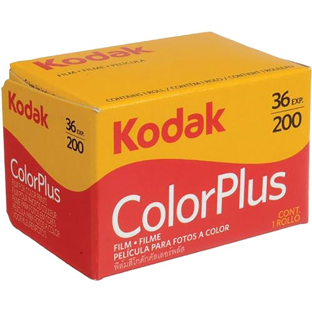 Kodak ColorPlus 200 Single Roll, 36 Exposures, Color Positive Film