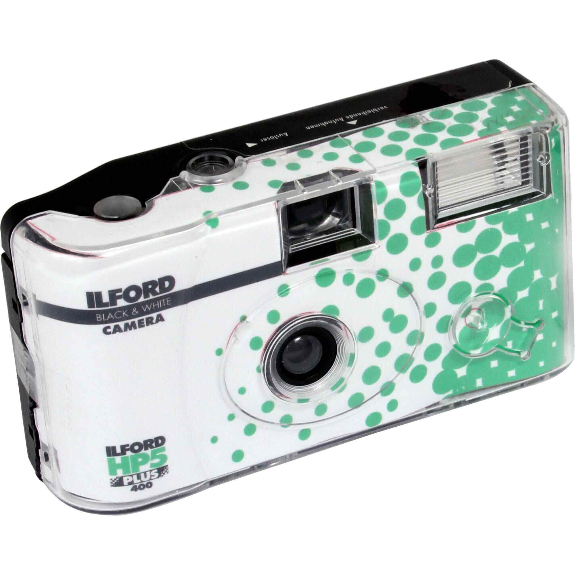 Ilford HP5 Plus Disposable Camera with Flash (27 Exposures)
