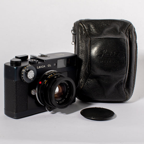 Leica CL (Black) with Wetzlar Sumicron-C 40mm f/2 Lens