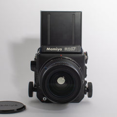 Mamiya RZ67 with a Mamiya-Sekor 65mm 2.8 Lens