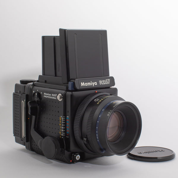 Mamiya RZ67 with a Mamiya-Sekor 110mm 2.8 Lens
