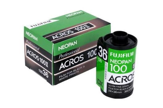 Fujifilm Neopan Acros 100 35mm, Black and White Film (Single Roll Purchase)