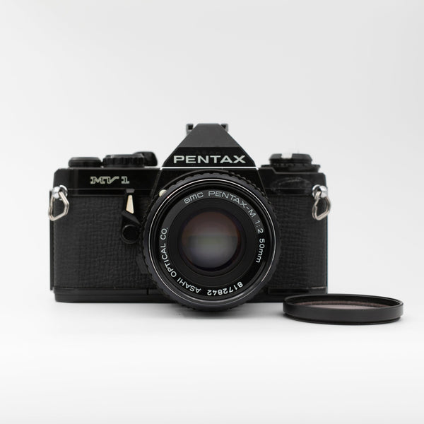 Pentax MV 1 with 50mm f/2 lens